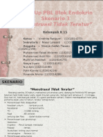 B 15 - PBL Endokrin Sk 3 Menstruasi Tidak Teratur