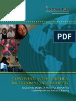 Convivencia Democratica, Inclusion y Cultura de Paz