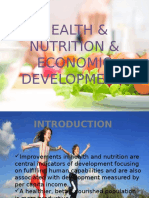 Health & Nutrition & Economic Development