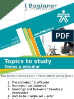 Tutorial Beginner Training Material LA1