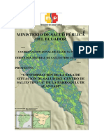 Mapa Situacional Alangasi 2014