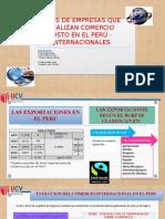 Empresas Que Realizan Comercio Justo en El Peru Internacionales