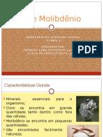 Cloro e Molibdênio Nutrição animal