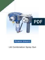 Lw Combination Spray Gun for Gfrc