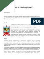 Municipio de Huajicori Imprimir