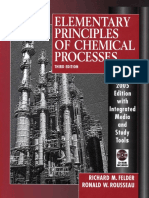 215305992 Elementary Principles of Chemical Processes With Solution Manual