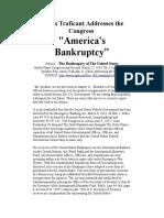 Trafficant U.S. Bankruptcy