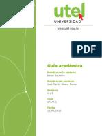 Bases de Datos Guía Académica Semana 1-2-17AAI-1