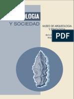 Arqueologia y Sociedad 4.