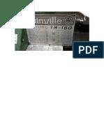 Placa Joinville Tm 150