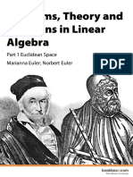 Problems Theory and Solutions in Linear Algebra