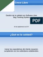 Gestion Calidad Software Libre