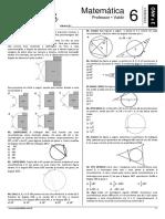09. SB-09 - Lista 06 - Exerc_cios Sobres Arcos de Uma Circunfer_ncia e Pot_ncia de Ponto