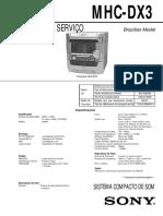 Sony Mhc Dx3