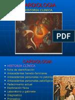 CARDIOLOGIA HISTORIA CLINICA 2.ppt