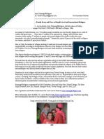 Running4Refugees Press Release