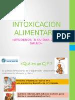 INTOXICACIÓN ALIMENTARIA-ppt
