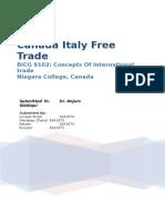 Canada Italy Trade
