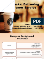 271045318 Starbucks Delivering Customer Service