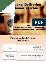271045318 Starbucks Delivering Customer Service