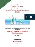 Final Report of mrf