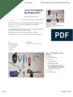 Reparar Cargador Macbook