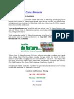Website Resmi de Nature Indonesia