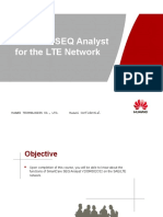 SmartCare SEQ Analyst V200R001C02 for the LTE