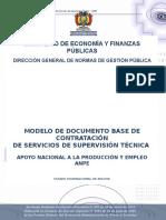 Dbc de Servicios de Supervisión Técnica - Anpe.docx