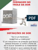 Aula 04 -A Enfermagem No Controle Da Dor
