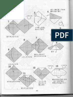 Elefante Nobuyoshi Enomoto … | Origami elephant, Origami diagrams ... | 396x298