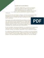 Breve Biografía de Fernando Botero