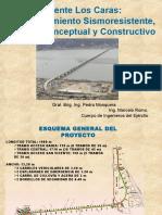 Puente Los Caras Diseño Conceptual