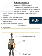 Rimska Vojska i Osvajanja