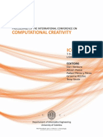 Proceedings of the International Conference on Computational Creativity (ICCC-X, 7-9 January 2010, Lisbon, Portugal)