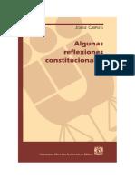 Reflexiones Constitucionales