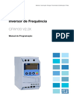 WEG Cfw100 Manual de Programacao 10001432578 2.3x Manual Portugues Br