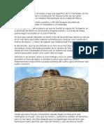 La Base de La Pirámide de Keops Ocupa Una Superficie de 5