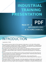 Training Presentation AATISH