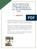 Informe Del Calculo Del Azimiut - UNI