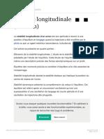 Stabilité longitudinale (aviation)  Wikipédia