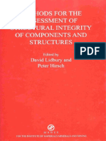 Vid Lidbury, Peter B. Hirsch-B0778 Methods for the Assessment of the Structural Integrity of Components and Structures-Maney Materials Science (2003)
