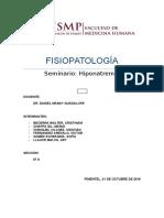 Fisiopato-Hiponatremias