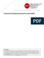 Unstructured Supplementary Service Data (USSD)