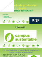 Acuerdo de Producción Limpia Campus Sustentable.