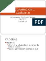 Programacion de Cadenas