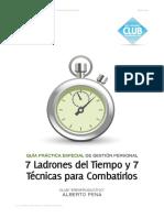 7 Ladrones del Tiempo y 7 técnicas para combatirlos  Alberto Peña.pdf