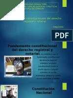 Fuandmaento Constitucional Del Registro y Notarial [Autoguardado]