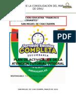 Plan de Actividades de La Atención Tutorial Integral