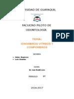 Ionomeros y Compomeros REPARTIDO (2)